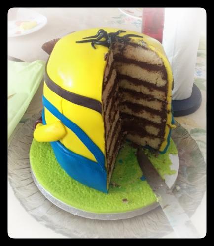 Minion, wedding cake, moi moche et méchant, Gru, banana, papou, pâtissier, alsace, strasbourg, mulhouse, colmar