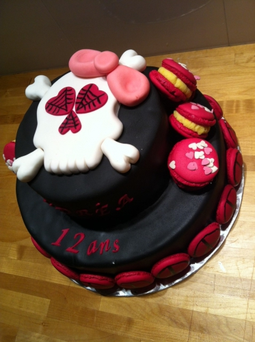 tête de mort, macaron,girlly, peace and love, hyppie, wedding cake, papou, patissier, zellwiller, bar
