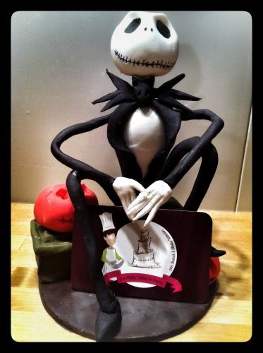 jack skellington, jack o'lantern, l'étrange noël de monsieur jack, tim burton, film, animation, pâtissier, papou, personnage, pâte à sucre