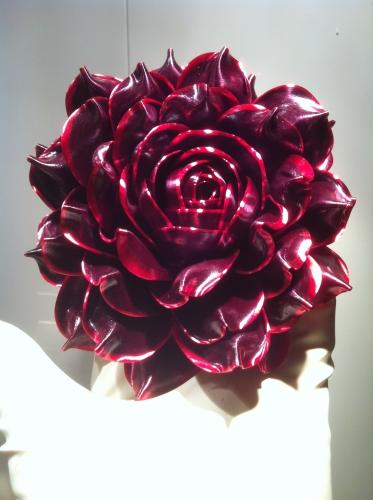 rose, fleur, sucre tiré, sucre d'art, papou, patisserie