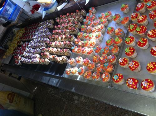 égast, 2012, cup, cake, papou, banette, grand moulin strasbourg, pâtissier, exposant, fournisseur, couleur, fondant, anniversaire,
