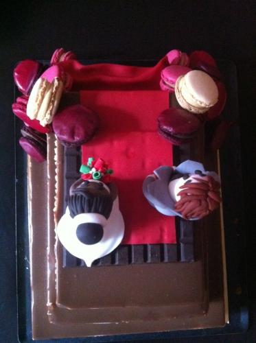 couple de marié, mariage, décor, pâte à sucre, mousse chocolat, tablette, costume, figurine, modelage, macaron, papou, patisserie, auto-entreprise, barr, zellwiller,