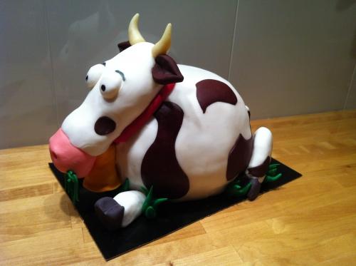 vache, herbivore, lait, crème, beurre, wedding cake, cake 3D, papou, pâtissier, zellwiller, vache, milka, vache qui rit, animal, desser
