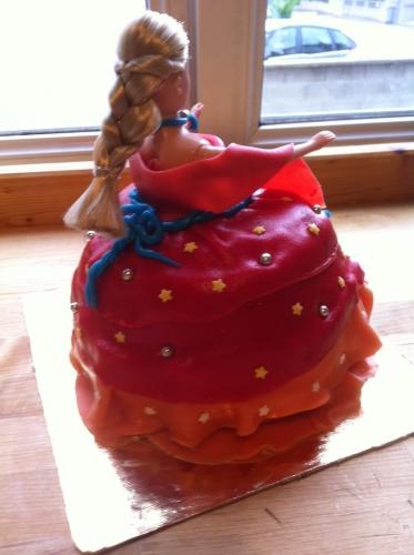 princesse, weeding,cake, fraise, crème, décor, déco, pâte amande, girly, fille, fillette, anniversaire, enfant, thème, papou, papouserie, milles, folies,