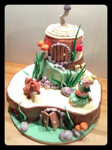 forêt, renard, fée, troll, bois, terrier, hobbit, pâtissier, alsace, héroïque fantasy, papou, franck valentin, wedding cake
