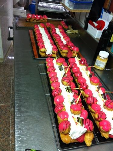 saint, honoré, St, fraise, crème, chantilly, choux, pâte à choux, rose, original, papou, Papou, pâtissier, Hoenheim, 67, maitrise, brevet