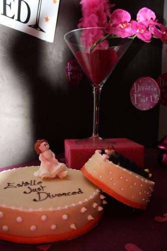 dessert, divorce, célébration, wedding cake, fête, séparation, papou, hoenheim