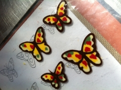 papillon, chocolat, couleur, cup cake, papou, pâtissier, chocolatier, créateur